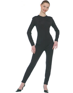 Black onesie for adult women