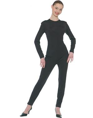Zwarte onesie voor vrouw