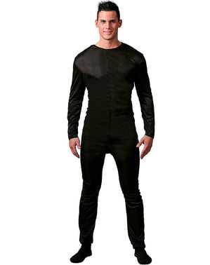 Black Bodysuit for Men
