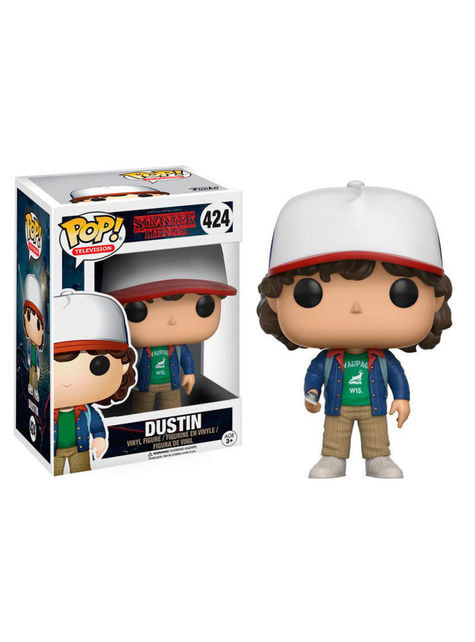 Funko POP! Dustin con compás - Stranger Things