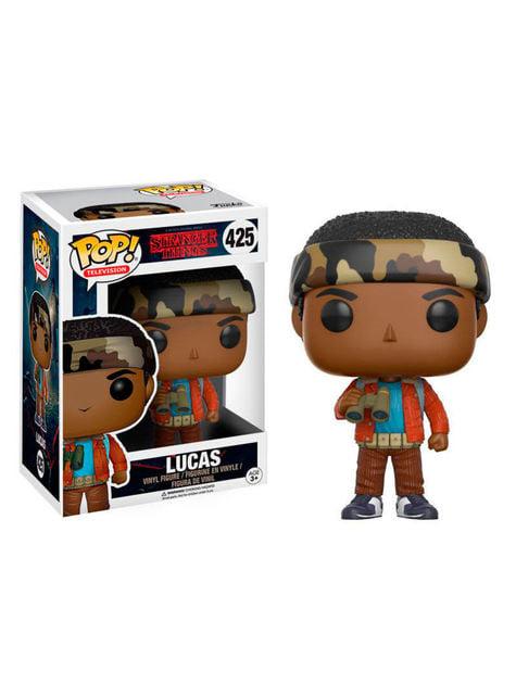 Funko POP! Lucas con prismáticos - Stranger Things