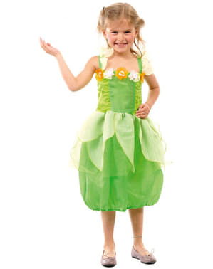 Costum zâna verde pentru fată