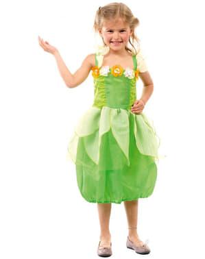 Grøn fe kostume til piger