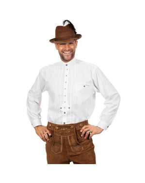 Біла сорочка Октоберфест для чоловіків