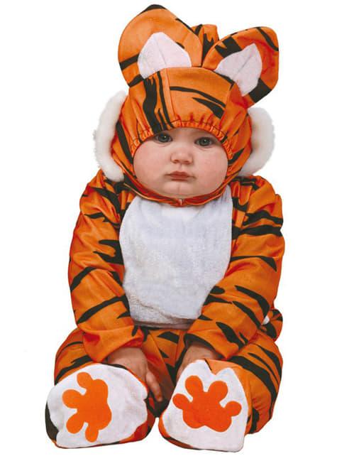 Тигърски костюм за бебета