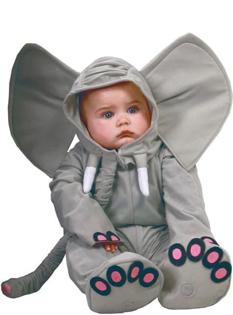 Strój słonik dla niemowlaka