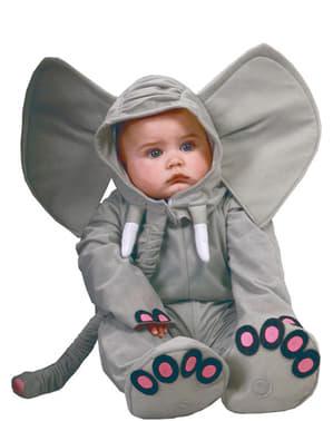 Fato de elefante para bebé