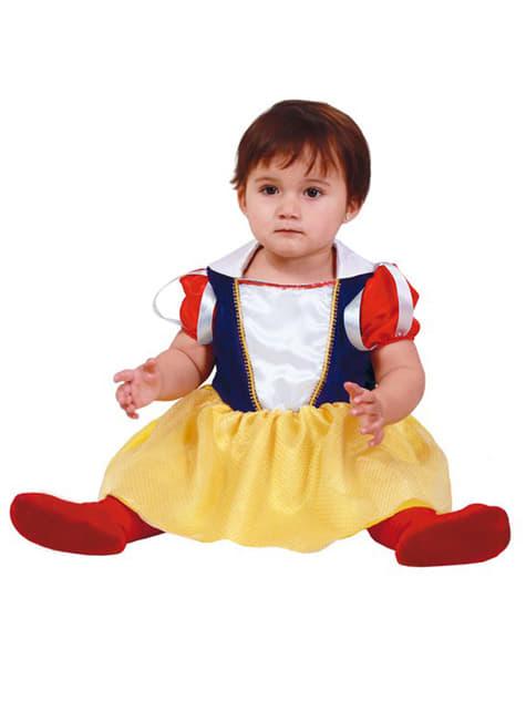 Disfraz de princesa de las nieves para bebé