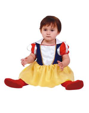 Costum Alba ca Zăpada prințesă pentru bebeluși