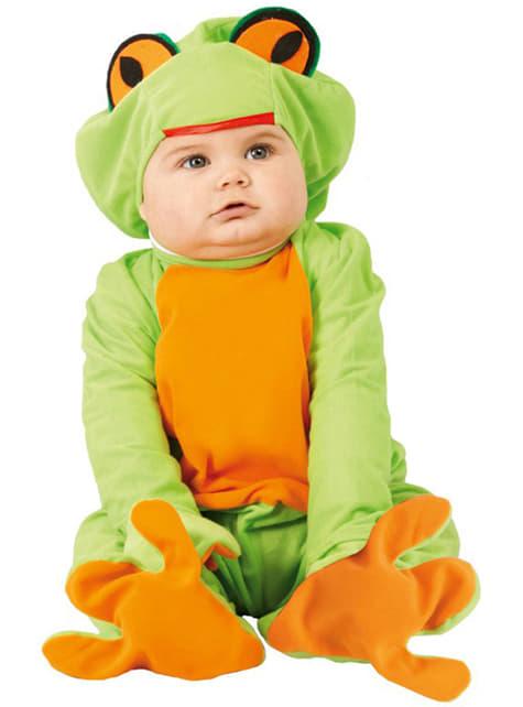 Costum de broscuță pentru bebeluși