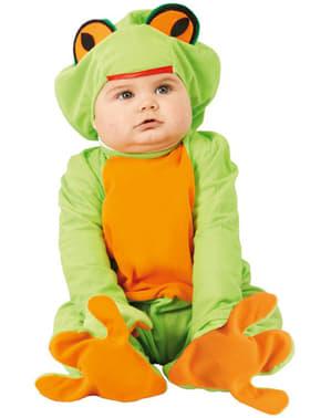 Disfraz de rana para bebé