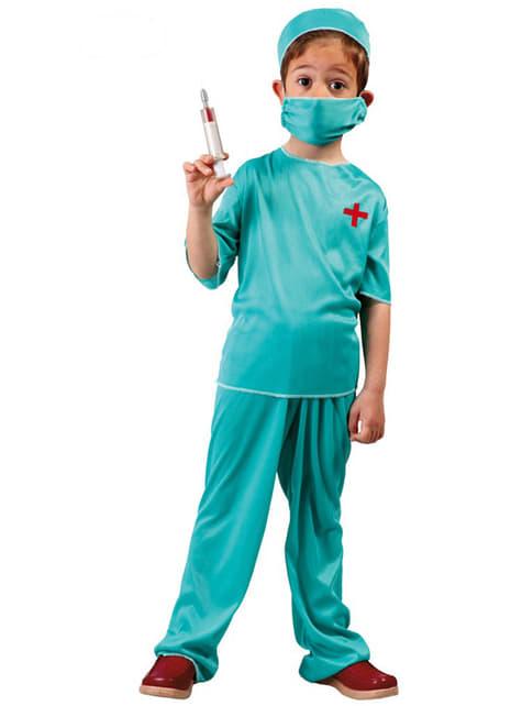 Maskeraddräkt kirurg för pojke