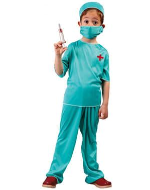 Kirurg kostume til børn