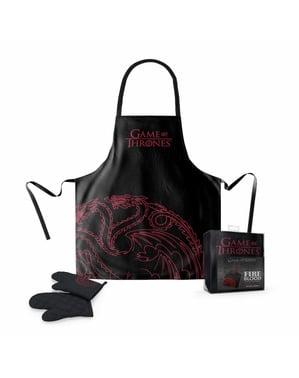Targaryen forklæde og ovn handske sæt - Game of Thrones