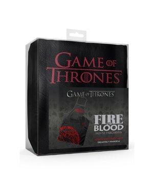 Zestaw inspirowany rodem Targaryen: fartuch i rękawice kuchenne - Gra o Tron