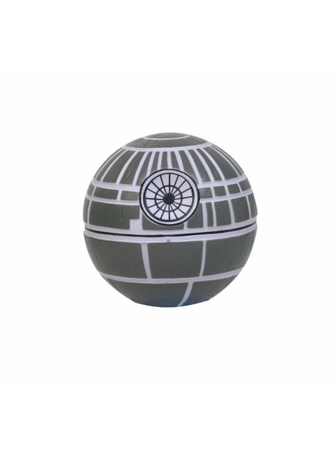 Figura antiestrés squishy Estrella de la Muerte 8 cm - Star Wars