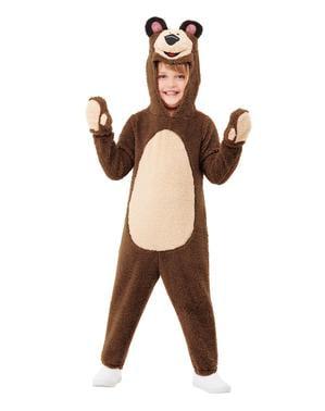 Bjørn Kostume til Børn - Masha og Bjørnen