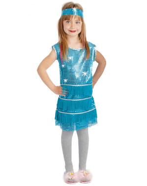 Disfraz de charlestón años 20 para niña