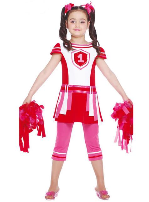 Disfraz de animadora chic para niña