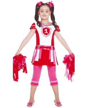 Strój cheerleadarka dla dziewczynki