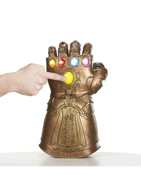 Guantelete del Infinito Thanos - Infinity War (Réplica Oficial) - productos oficiales para fans