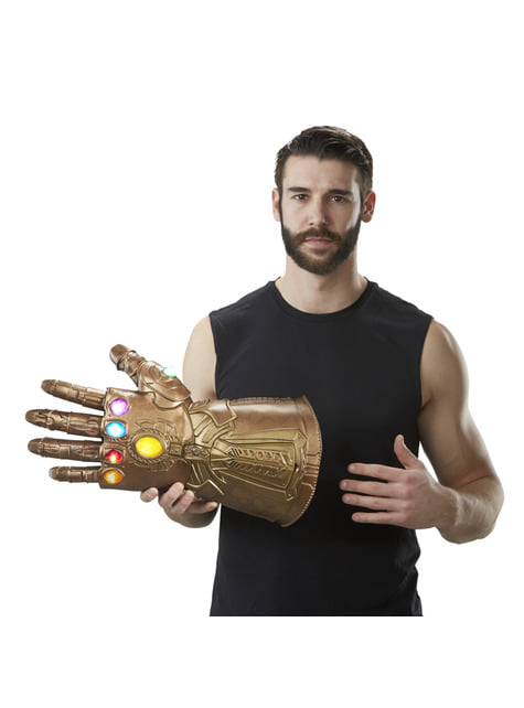 Guantelete del Infinito de Thanos (Réplica Oficial) - Los Vengadores: Infinity War