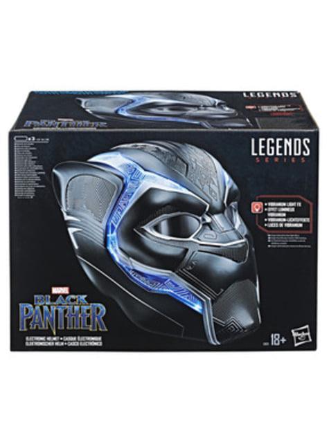 Casco Black Panther Electrónico (Réplica Oficial) - para verdaderos fans