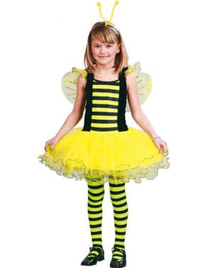 Bienenkostüm mit Flügeln für Mädchen