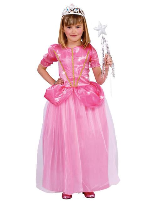Fato de princesa do baile para menina
