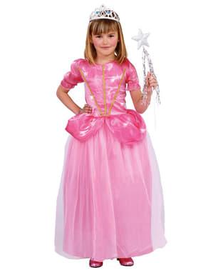 Strój księżniczka tańca dla dziewczynki