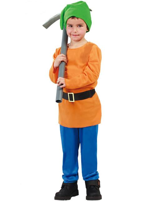 Liten Dverg av Skogen Kostyme for Gutter