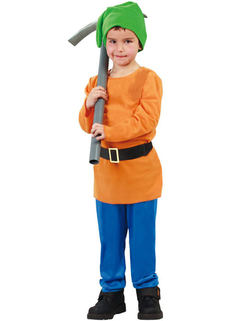 Little Dwarf of the Forest Costume for Boys