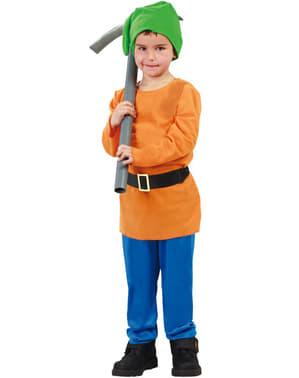 Snøhvit Dverg Kostyme til Gutter