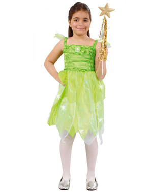 פייה של תלבושות היער עבור בנות