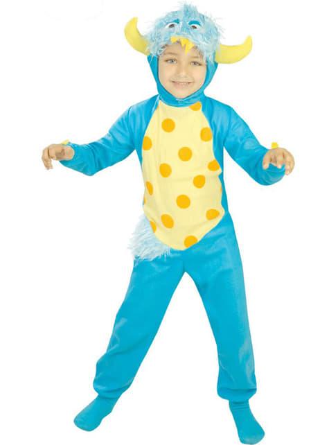 Monster kostume til små børn
