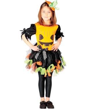 Costume zucca bambina