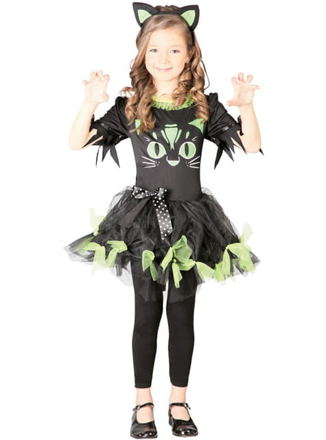 Fussy Kitten Costume for Girls