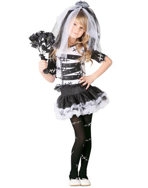 Costume sposa cadavere da bambina