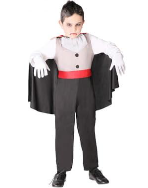 Costume vampiro assetato da bambini