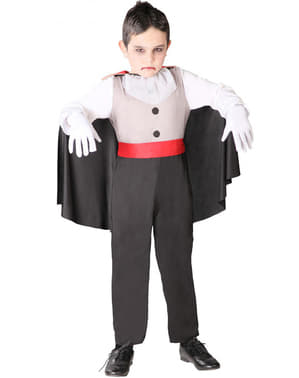 Disfraz de vampiro sediento infantil