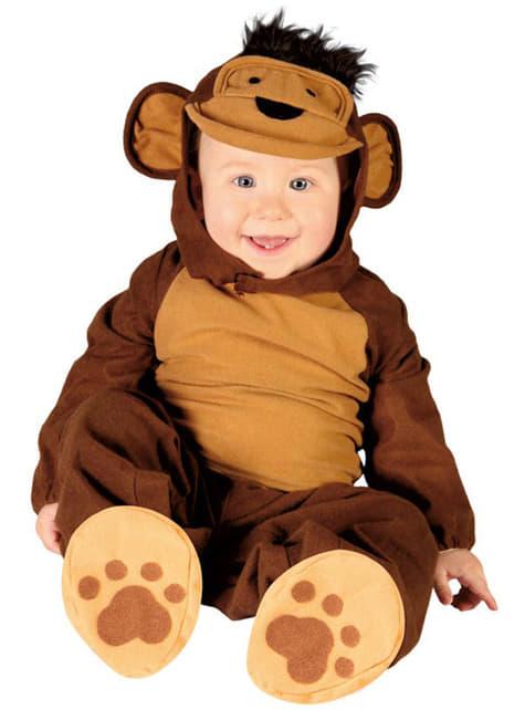 Малка маймуна костюм за бебета