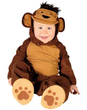 Déguisement d'un singe pour bébé
