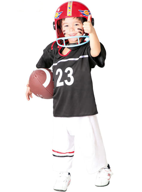Fato de quarterback para menino