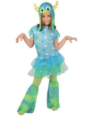 Lite Monster Kostyme for Jente