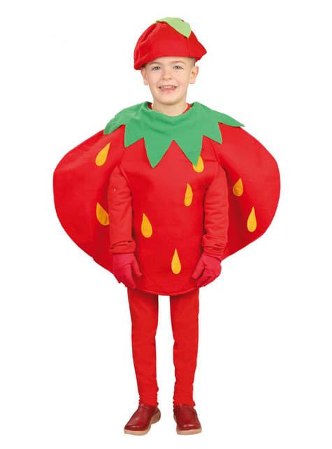 Disfraz de fresita infantil