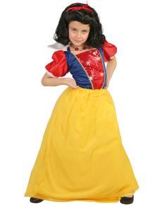 Costum de prințesă a pădurii pentru copii