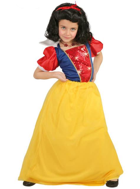 Fato de princesa do bosque infantil