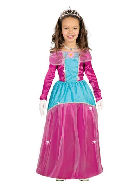 Princezná kostým pre dievčatá