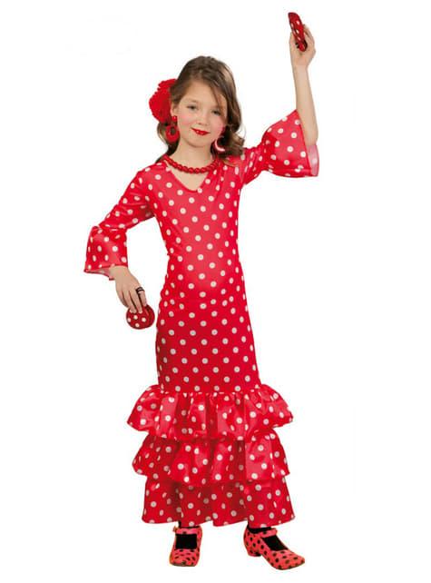 Disfraz de flamenca para niña