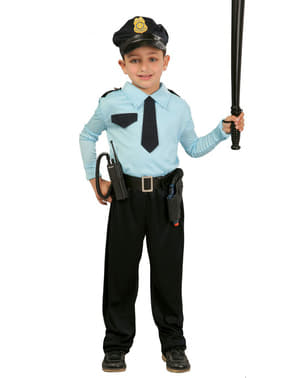 Fato de polícia para menino